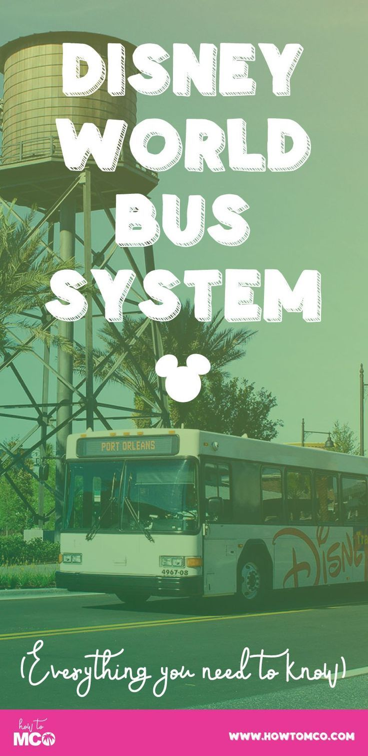Ever wonder about how the bus system at Disney works? Well look no further! Plus lots of awesome Disney bus travel tips!!