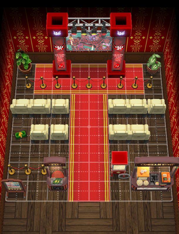 Movie Theater Pocketcamp Animalcrossing Animal Crossing Pocket Camp Animal Crossing Movie Theater