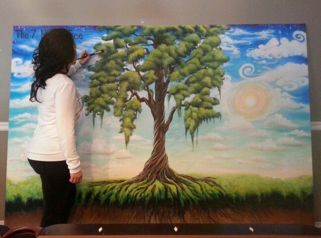 7 habits tree 7 habits and murals on pinterest for 7 habits tree mural