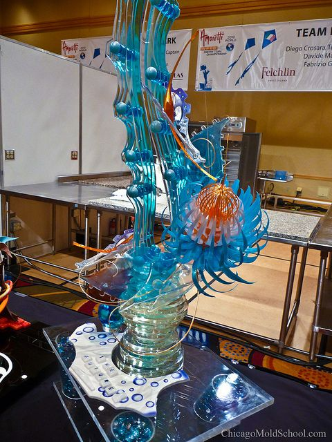 World Pastry Championships 2010 - Team Italy's sugar showpiece - The Chicago School of Mold Making