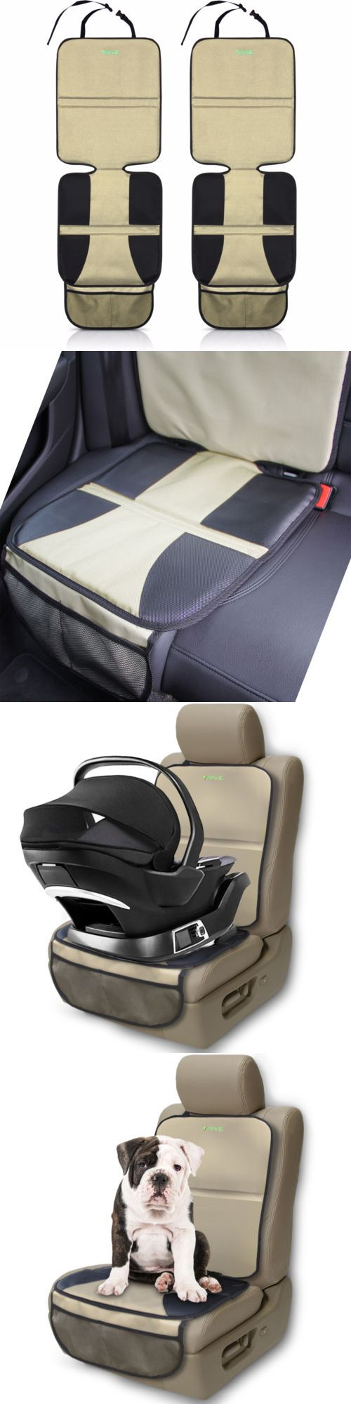Car Seat Accessories 66693: Car Seat Protector (2-Pack, Tan) By Drive Auto Products - Best Child Seat Pad -> BUY IT NOW ONLY: $37.61 on eBay!