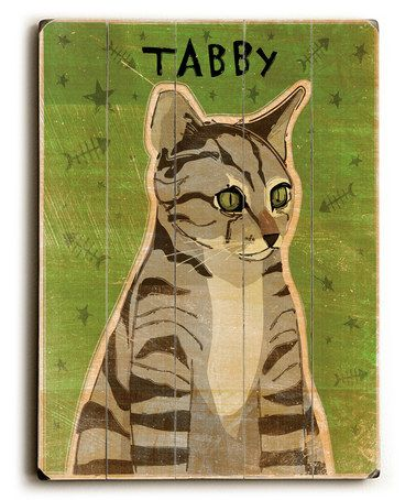 Another great find on #zulily! Grey Tabby Cat Wall Plaque by ArteHouse #zulilyfinds