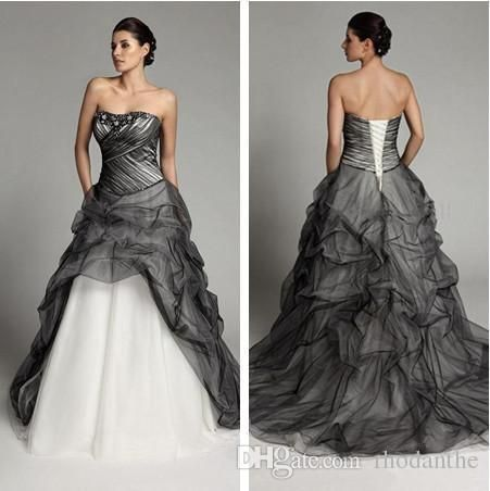 Best 25 petite wedding dresses ideas on pinterest petite gothic black tulle wedding dresses 2017 vintage a line sweetheart plus size beaded crystal floor length organza tiered skirt bridal gowns junglespirit Gallery