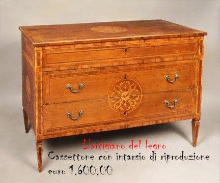 L artigiano del legno restauratore di mobili antichi for Mobili design riproduzioni