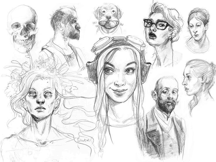 ArtStation - Sketchbook, Dagmara Darsicka