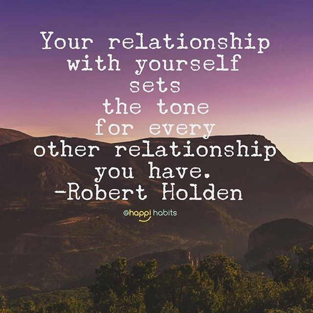How you treat yourself reflects in how others treat you, friends. Self-love matters.