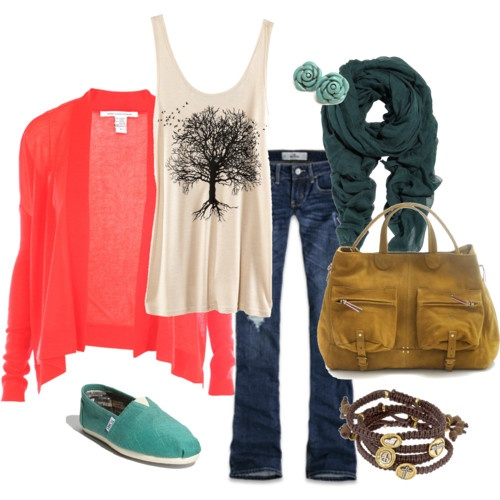 Loooooove. All.Colors Combos, Fashion, Casual Outfit, Style, Closets, Clothing, Tanks Tops, Comfy Casual, Casual Looks