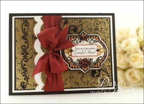 Vintage Rose Medallions and Elegant Fronds designed by Darsie Bruno.