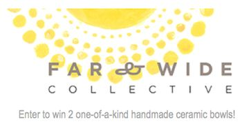 Canadians - enter to win with Far & Wide Collective! Closes October 24th. #giveaway