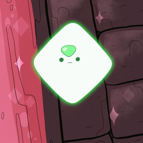 Floating Peridot