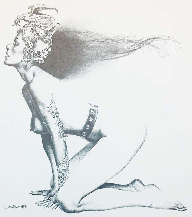 Las Princesas de Boris Vallejo | Ilustradora Madrid | Estefanía Córdoba | Dibujante Freelance