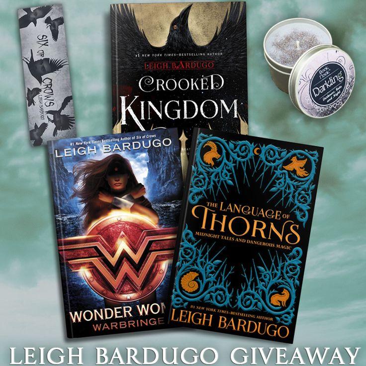 Leigh Bardugo Books Giveaway