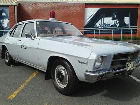 Holden Hx Kingswood Police Car New Zealand Police Police