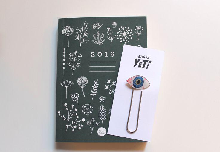 Eye Bookclip by AtolyeYETI on Etsy