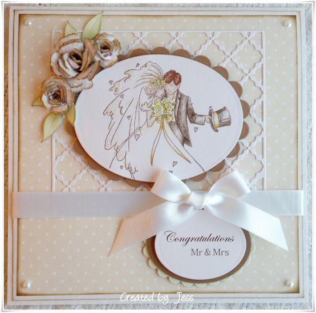GorJessCardsnCrafts: Cards Wedding