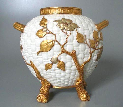 Фарфоровая ваза, Вустер, 1882 год