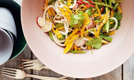 Butternut Tataki and Udon Noodle Salad by Yotam Ottolenghi, theguardian #Salad #Tataki #Udon_Noodle