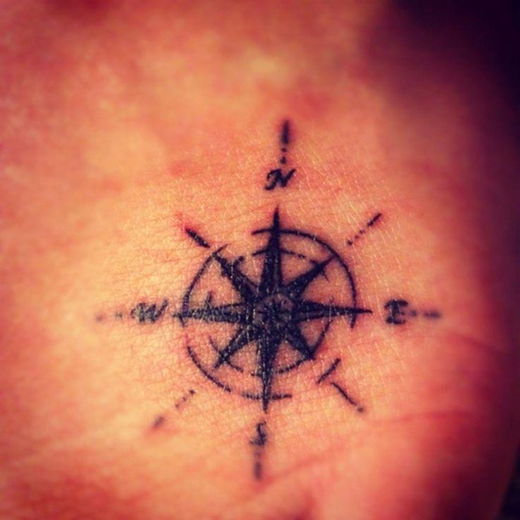 25 Interlocking Tattoo Designs Ideas: 25+ Best Ideas About Simple Compass Tattoo On Pinterest