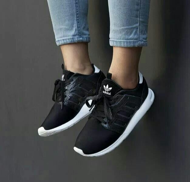 Adidas Zx Flux Black Outfit