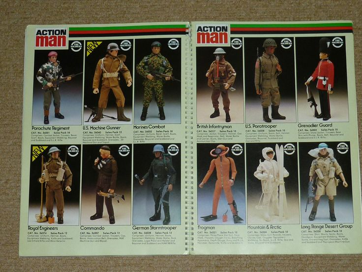 VINTAGE ACTION MAN PALITOY TRADE CATOLOGUE 1981 in Toys & Games, Action Figures, Military & Adventure   eBay