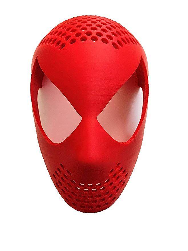 Spiderman Mask Shell : spiderman, shell, Amazon.com:, Spider-Man, Shell, Printed, Homecoming, Spiderman, Amazing, Infinity, Movie…, Mask,, Spiderman,