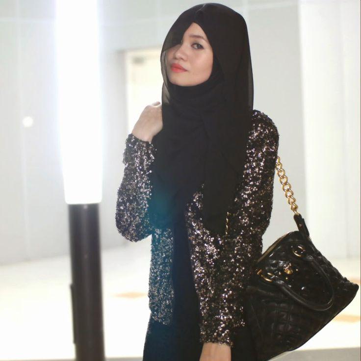 R Nadia Sabrina: Video Tutorial #1 : Daily Hijab Style