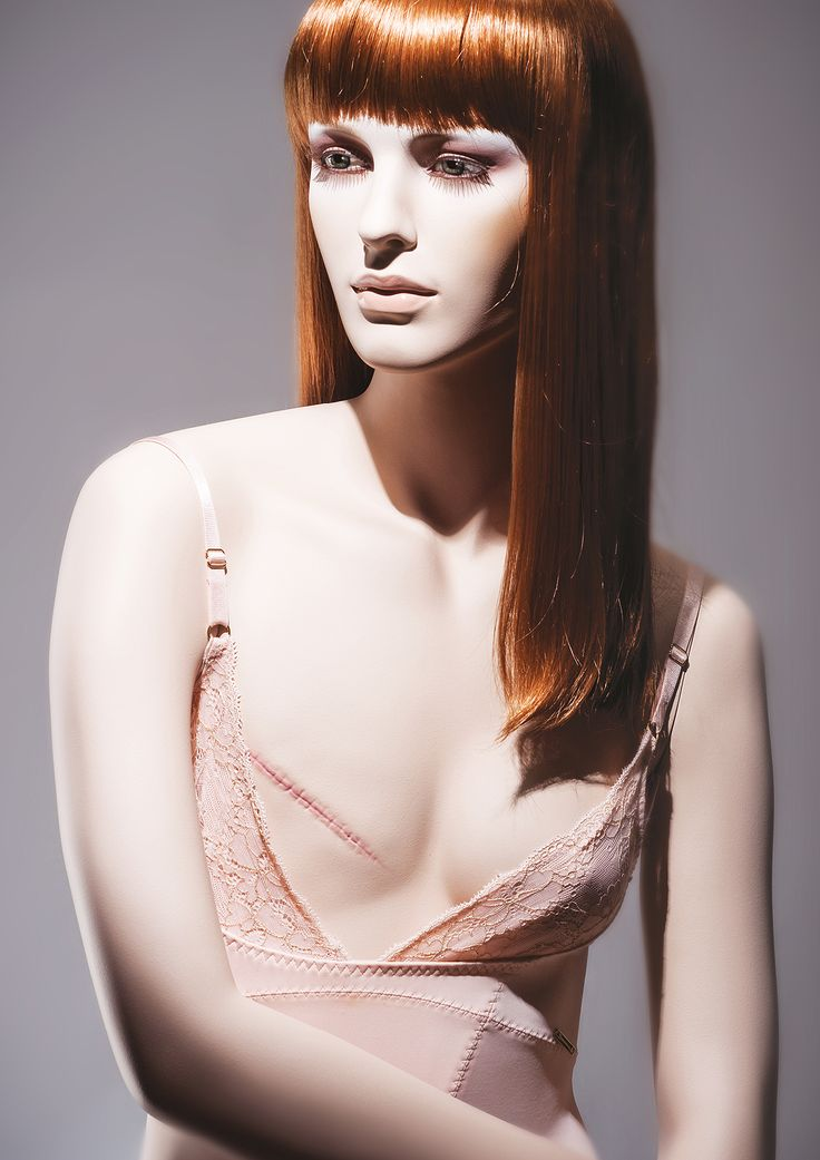 Unique realistic female mannequin by More Mannequins #mastectomy