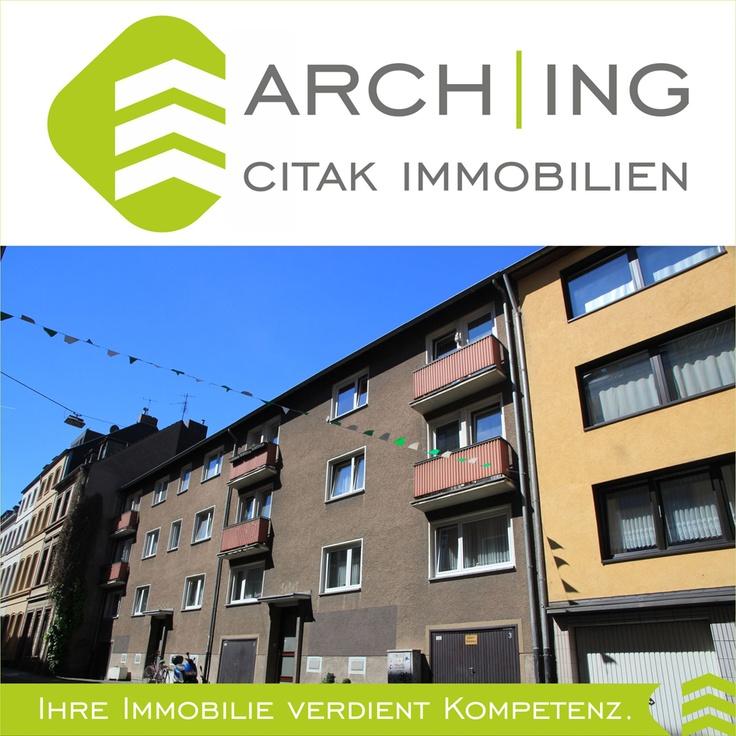 Wohnanlage mit 2 Mehrfamilienhäusern und 9 Wohnungen in Köln-Deutz.