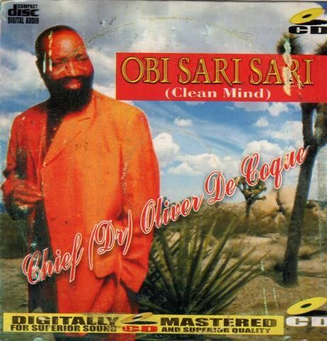 Oliver De Coque - Obi Sari Sari - CD