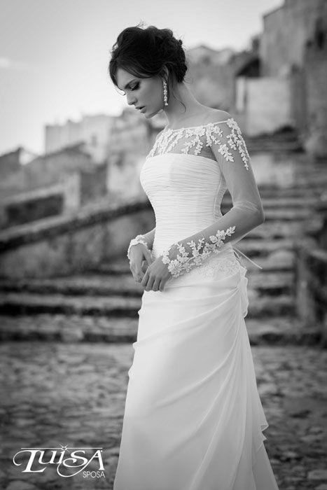 Luisa Sposa Mod. L 3178 Beautiful! #PerfectMuslimWedding