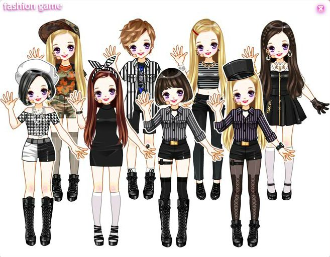 Daum Idols Dress-up games