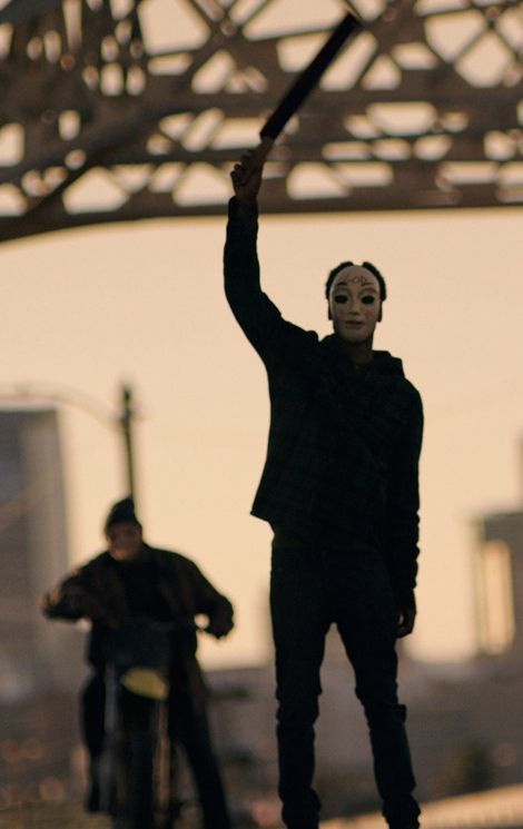 The purge anarchy... a good reason to have home defense weapons