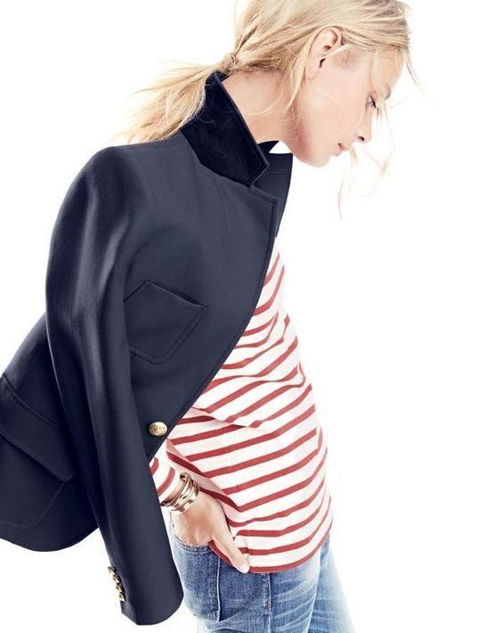 Wardrobe Investment: J Crew Regent Blazer