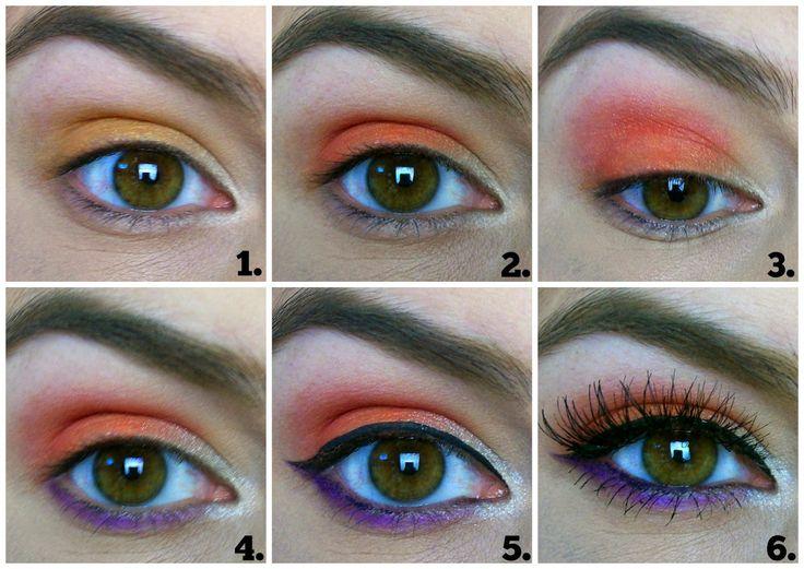 Electric Eyeshadow Challenge: Vivid Orange | Beauty Broadcast