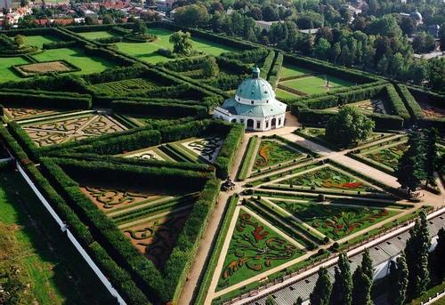 Kroměříž Chateau gardens, Czech Republic