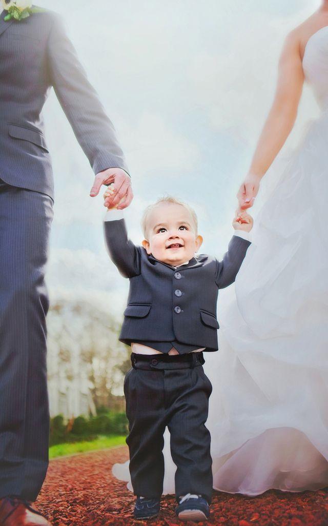Mijn prachtige kind als bruidsjonker!