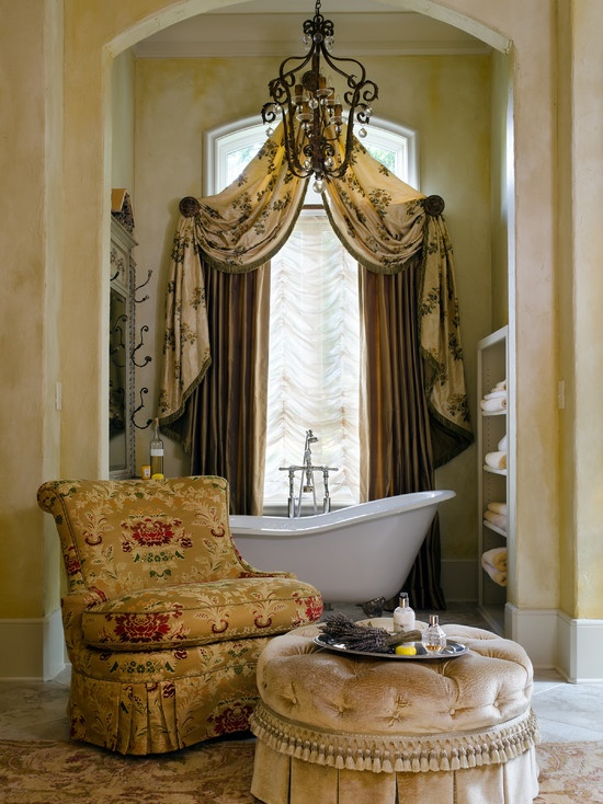 Curtain designs for living room pictures to pin on pinterest - Curtain Master Bath Reno Ideas Pinterest