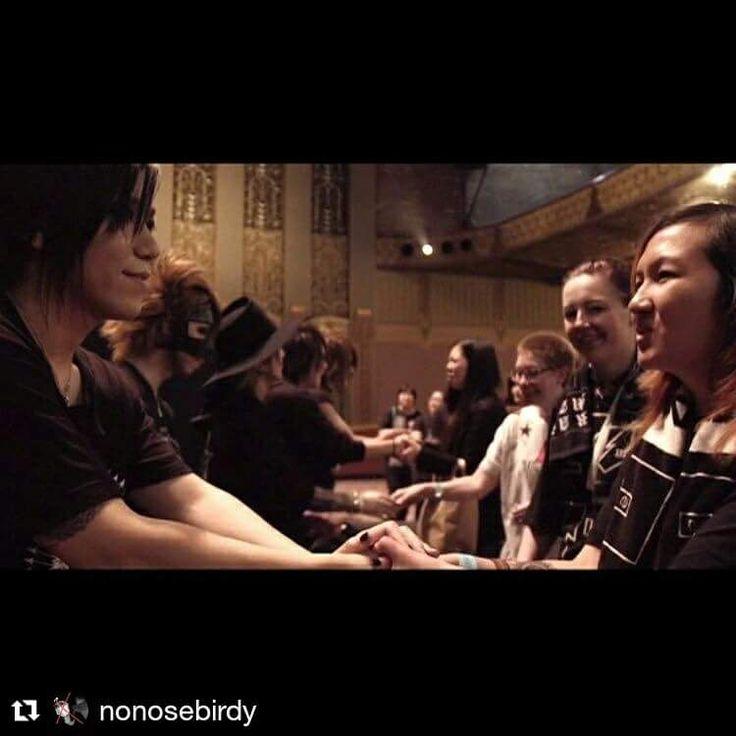 M&G - the GazettE documentary world tour 2016 Via nonosebird