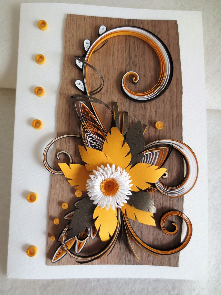 QUILLING BIRTHDAY CARD