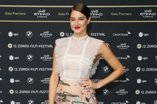 Shailene Woodley At The Snowden Premiere For The Zurich Film Festival