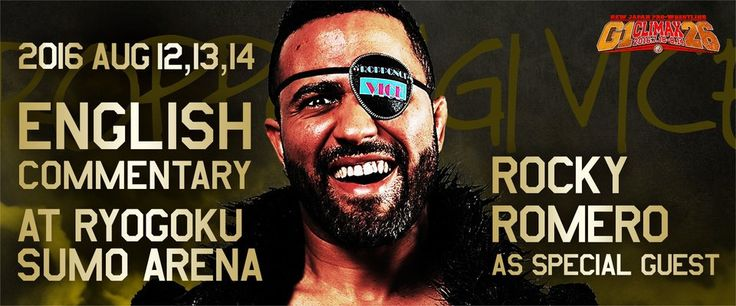 RT @njpwglobal: G1 CLIMAX 26 final 3 days: English commentary by Steve Corino, Kevin Kelly and special guest Rocky Romero! #g126 https://t.…