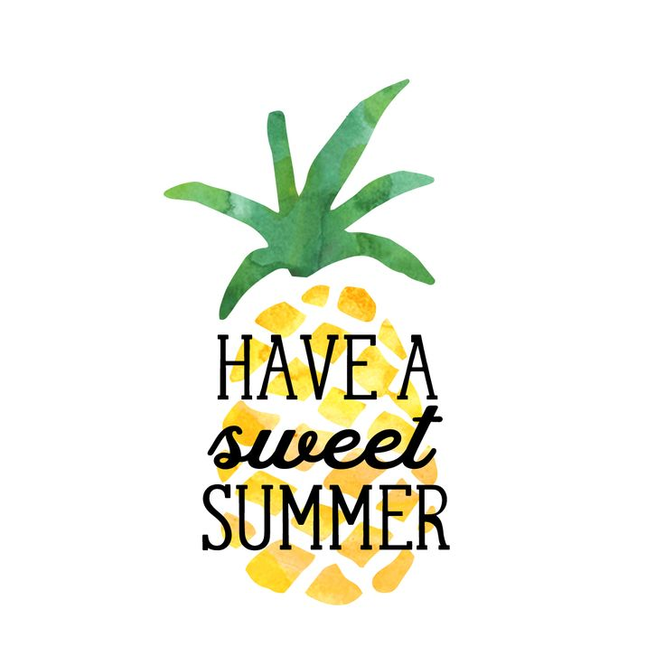 Sweet Summer Gift Tag