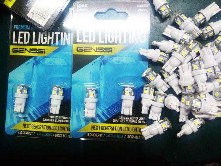 LED car bulbs such as 194 1156 1157 3157 BA9S Festoon bulbs and more.