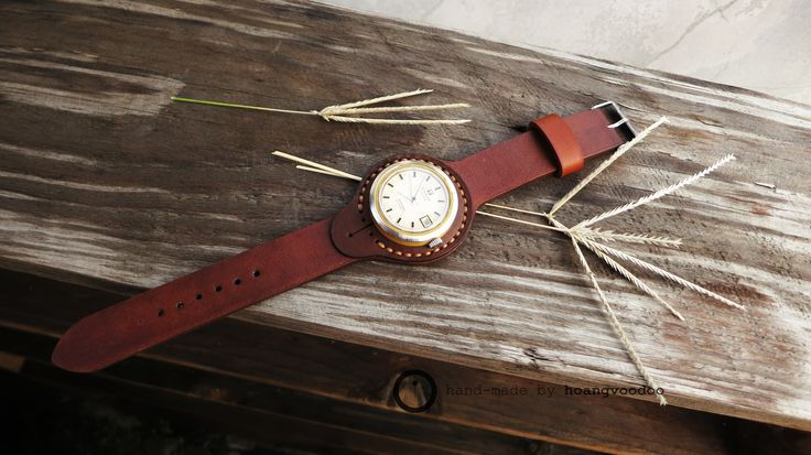 watch strap for sideral - handmade by hoangvoodoo
