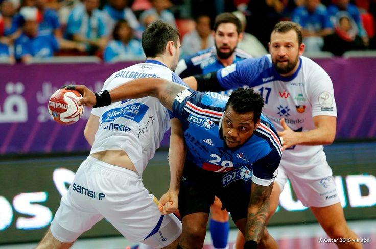 Cedric Sorhaindo con la selección francesa #handball (@BanusAlex)