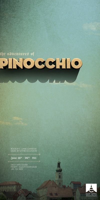 great poster for Pinocchio.