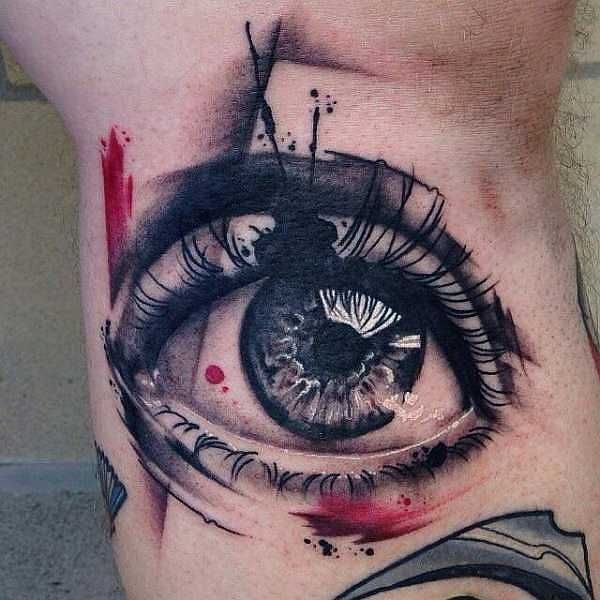 best 25 eye tattoos ideas on pinterest tiny tattoo placement realistic eye tattoo and eye. Black Bedroom Furniture Sets. Home Design Ideas