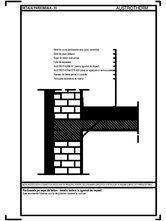 Pardoseala pe sapa de beton - detaliu izolare la zgomot de impact AUSTROTHERM