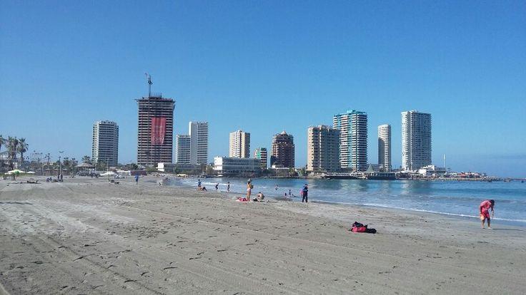 Playa Cavancha en Iquique, Tarapacá