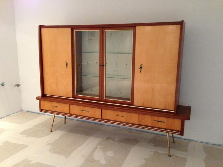 50er Jahre Schrank Wohnzimmerschrank Original Guter Gebrauchter Zustand